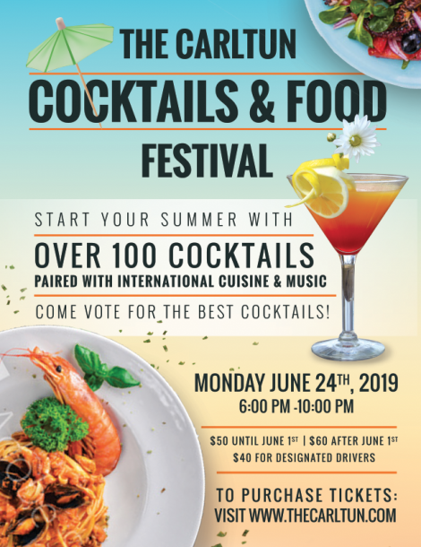 East Coast/Cocktails and Food Festival in Eisenhower Park @ The Carltun | Westbury | New York | United States