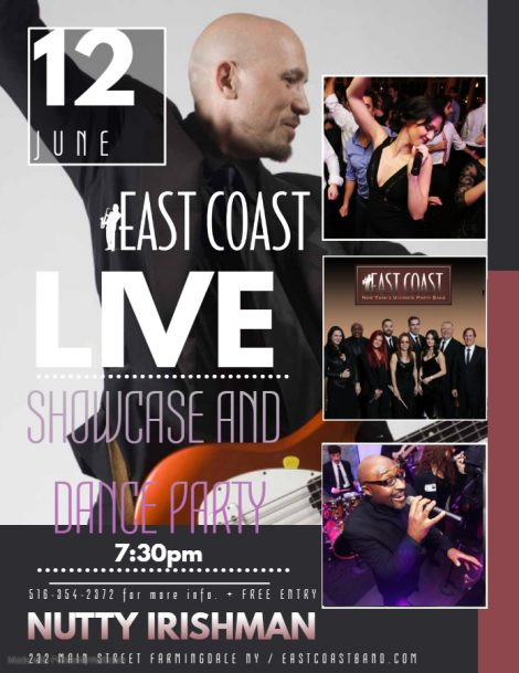 East Coast Showcase Night in Farmingdale @ Nutty Irishman | Farmingdale | New York | United States